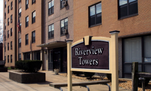 An image of the Riverview Towers Building